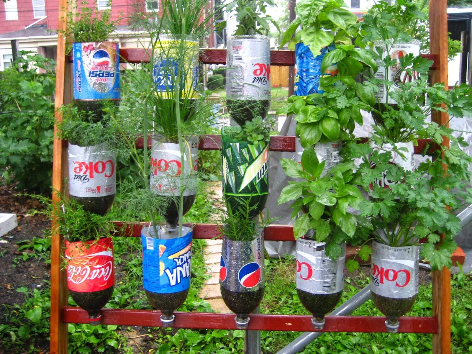 Recycle Stunning Recycled Gardening