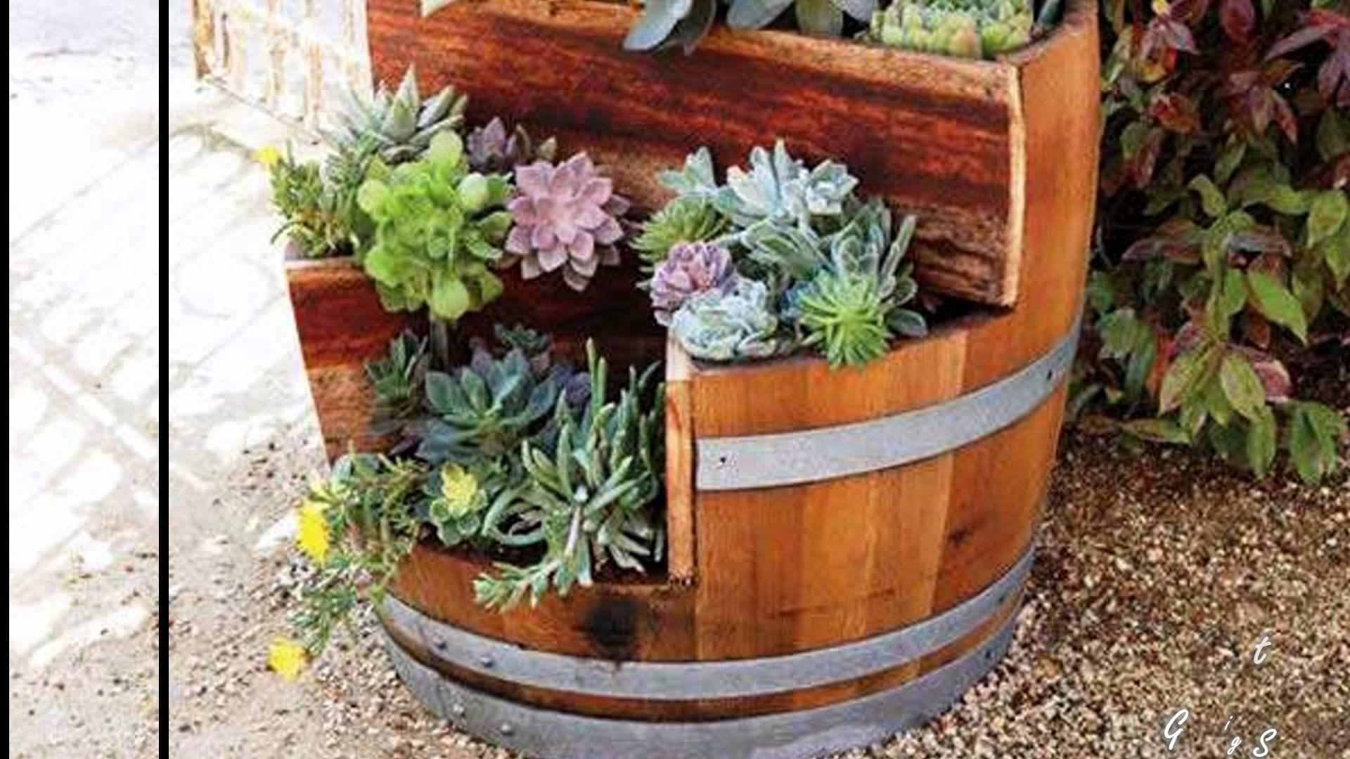Recycled Barrels Interior Decorating Old