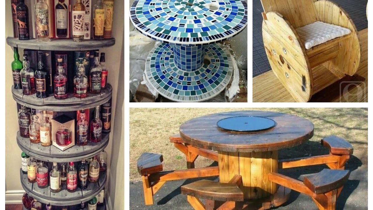 Recycled Cable Spool Ideas Diy Furniture