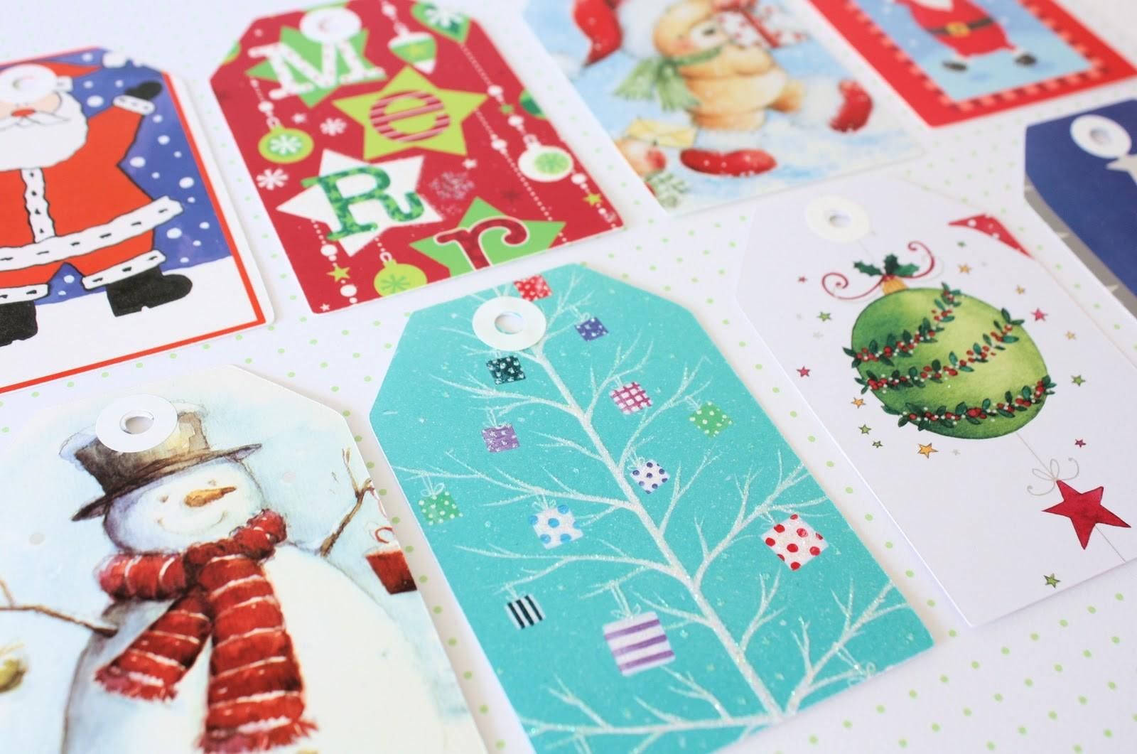 Recycled Christmas Cards Spoonful Sugar