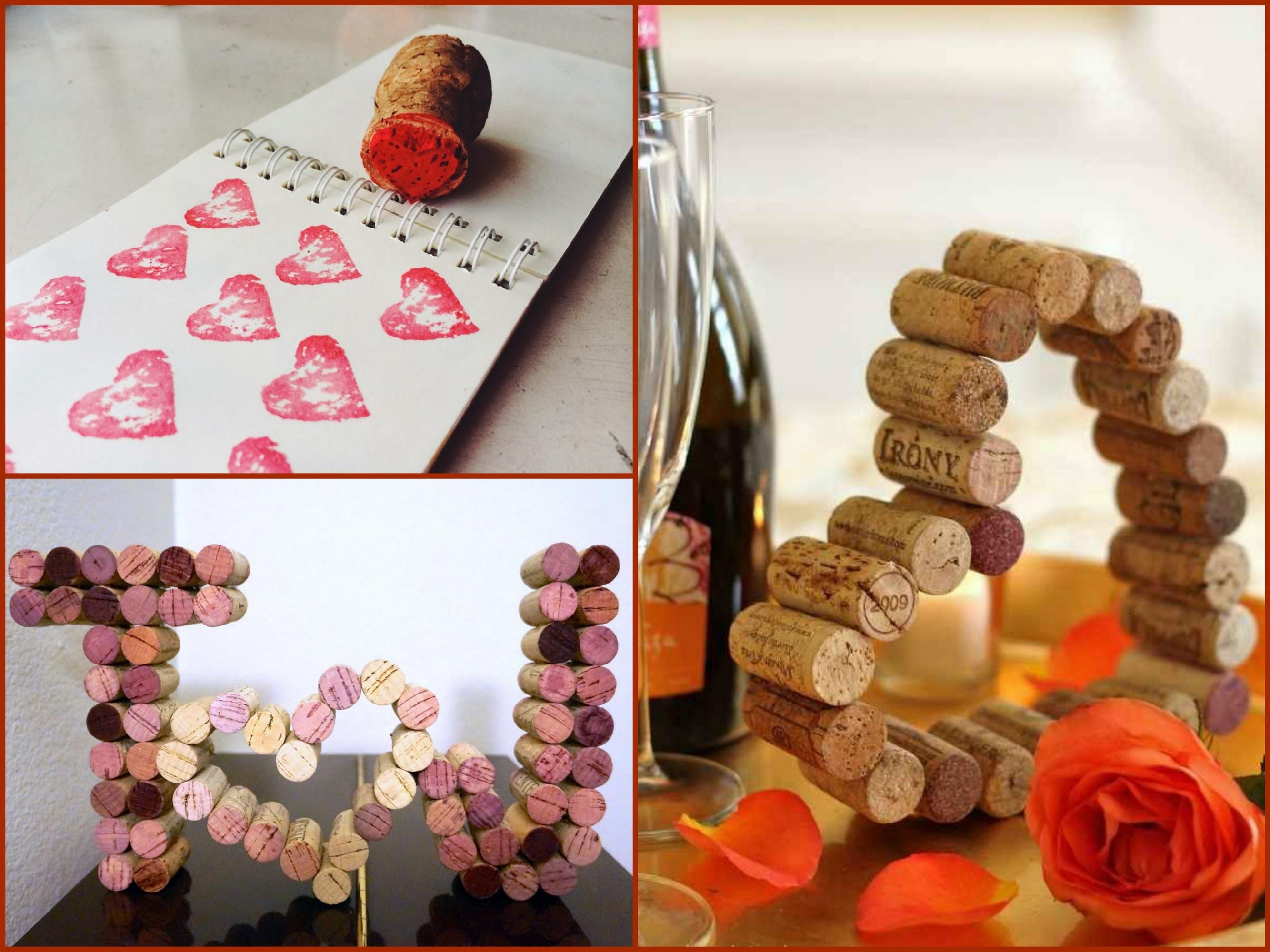 Recycled Gift Ideas Valentines Day Diy Wine Cork
