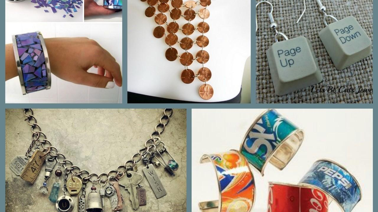Recycled Jewelry Ideas Cheap Easy Diy Making