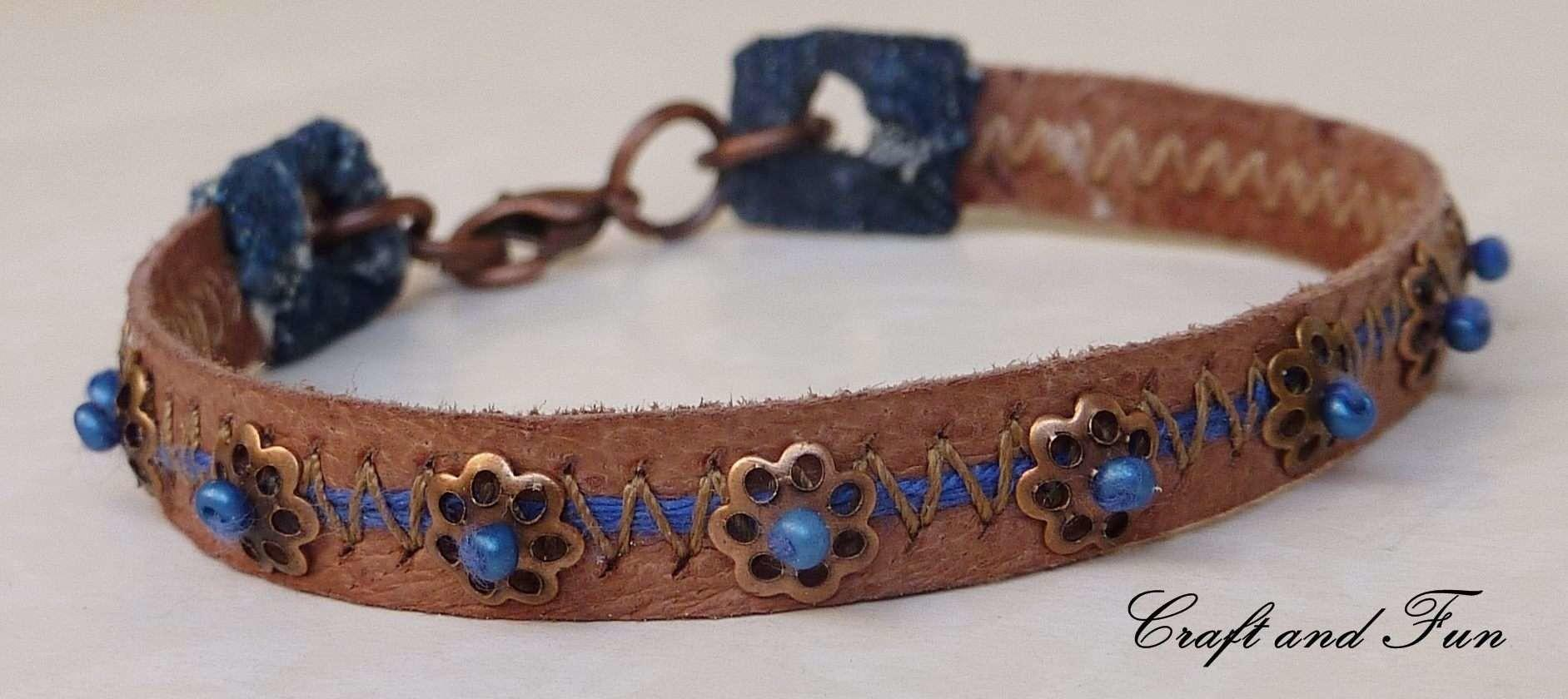 Recycled Old Boots Into Leather Bracelets Recyclart