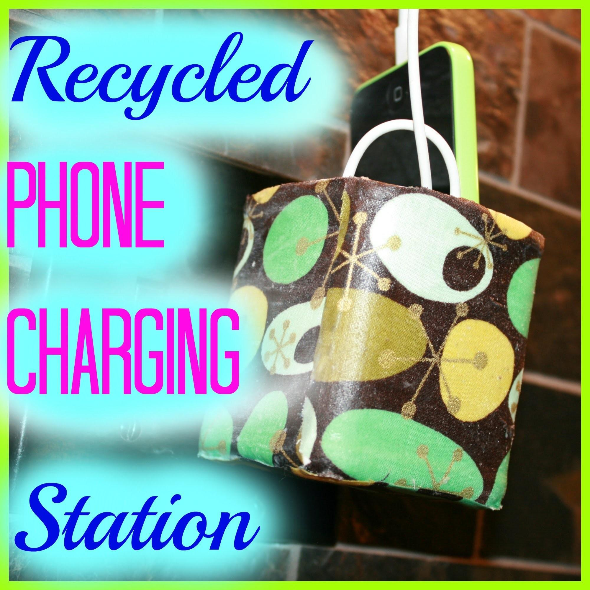 Recycled Phone Charging Station Diy