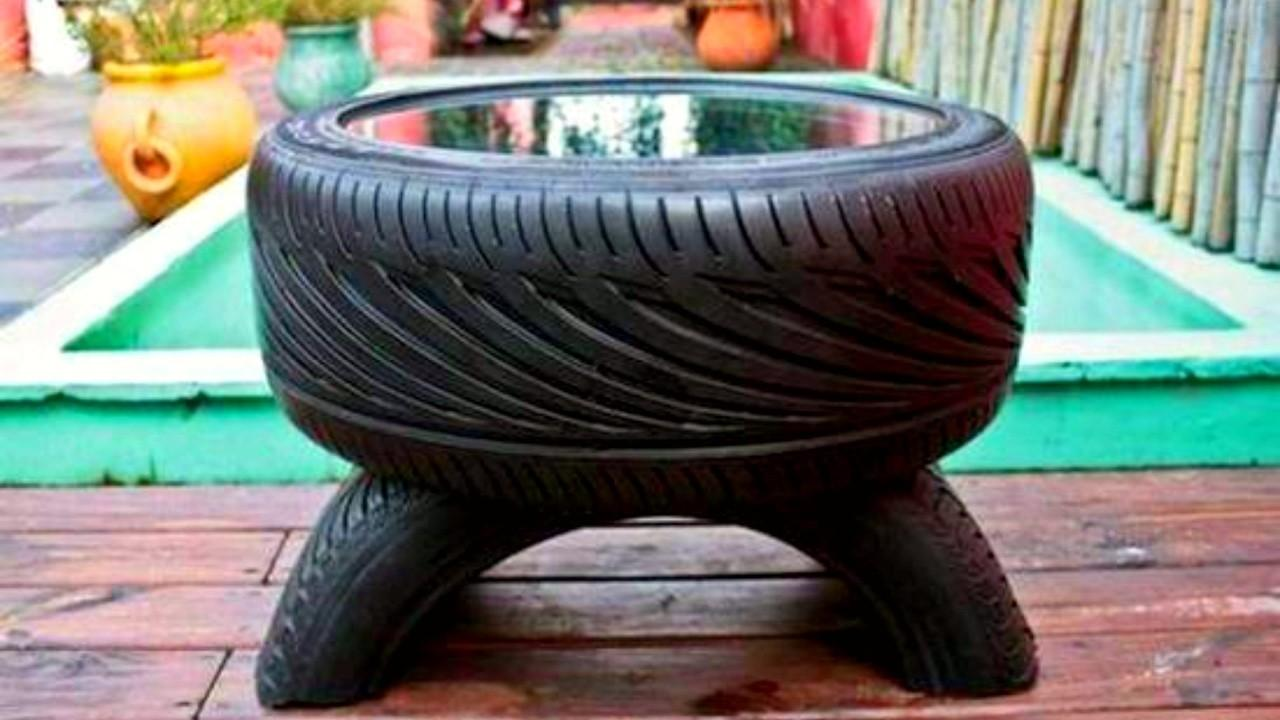 Recycled Used Tyres Diy Ideas 2017 Awesome Chair Bed
