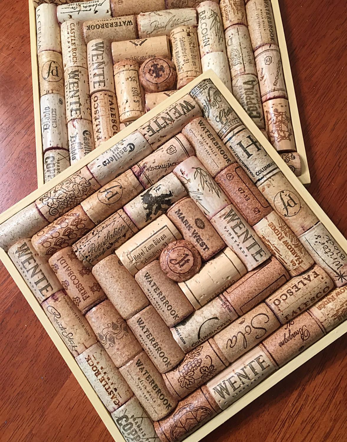 Picture Of Diy Trivet Of Wine Corks That Will Provide Pleasant Work Images Decoratorist