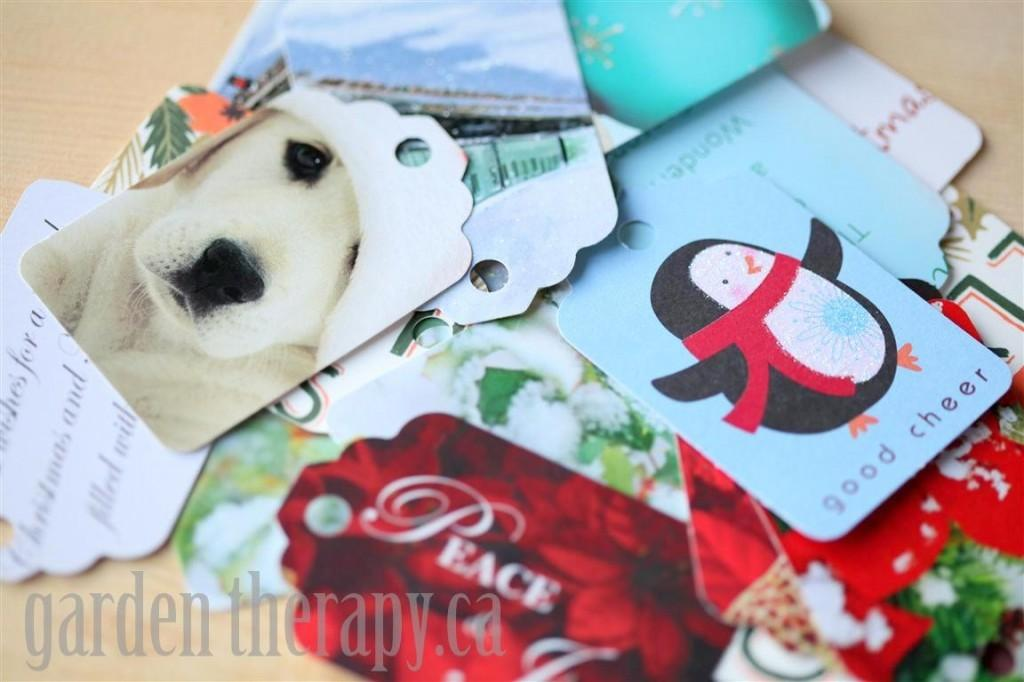 Recycling Cards Into Gift Garden Therapy
