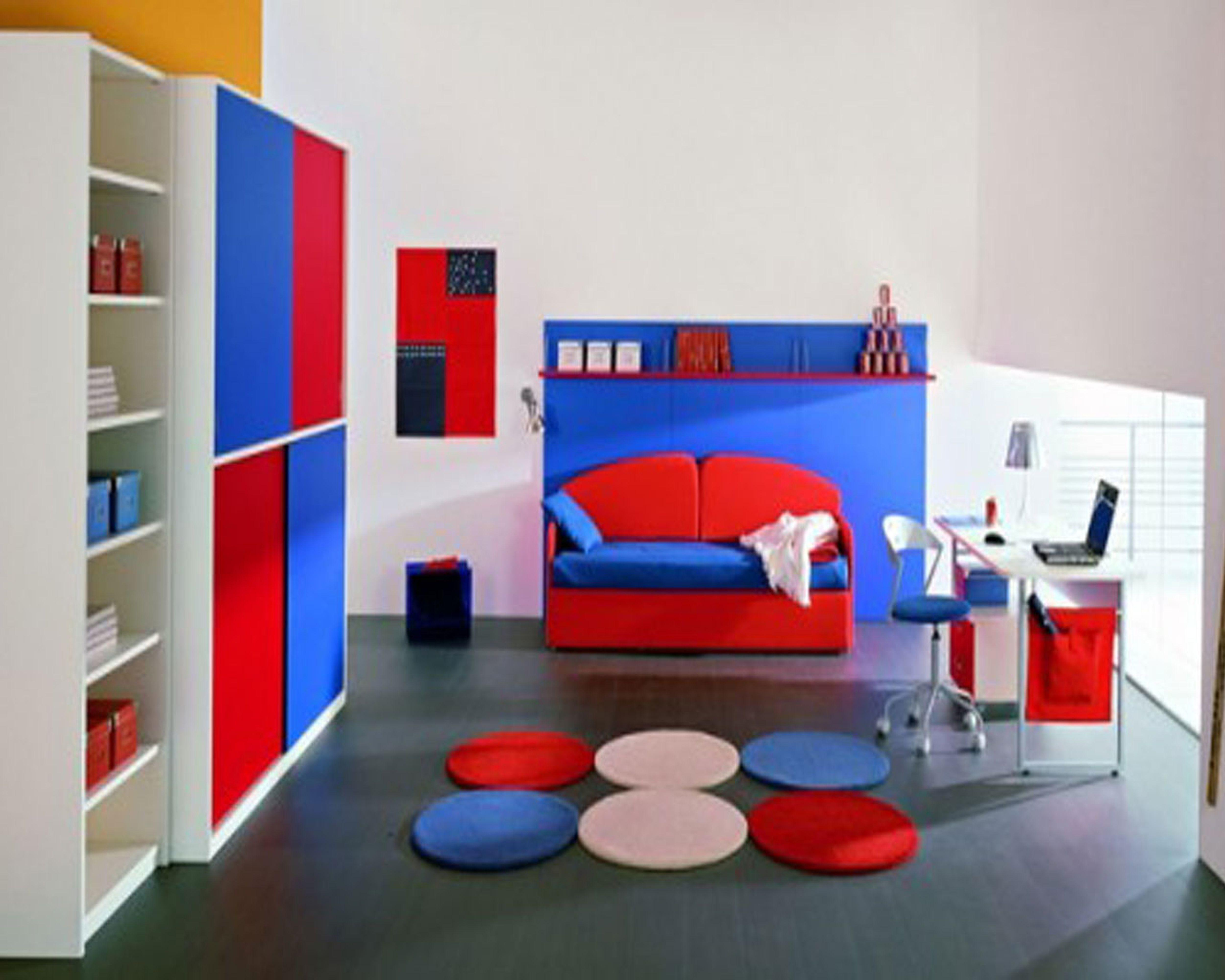 Red Accessories Bedroom Furnitureteams
