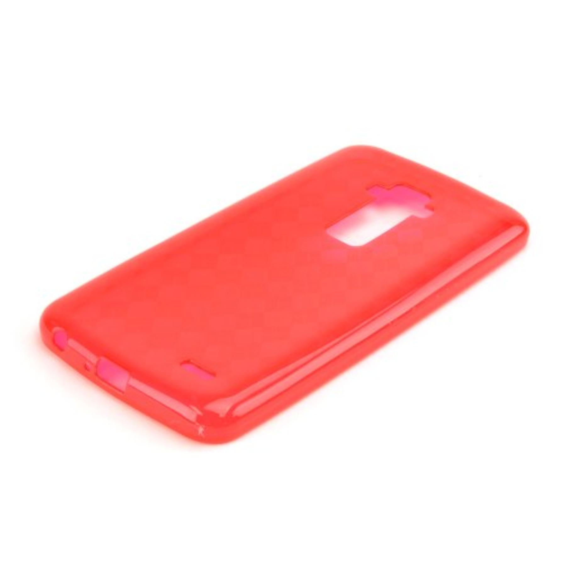 Red Argyle Flex Tpu Gel Case Cover Anti Slip Supports
