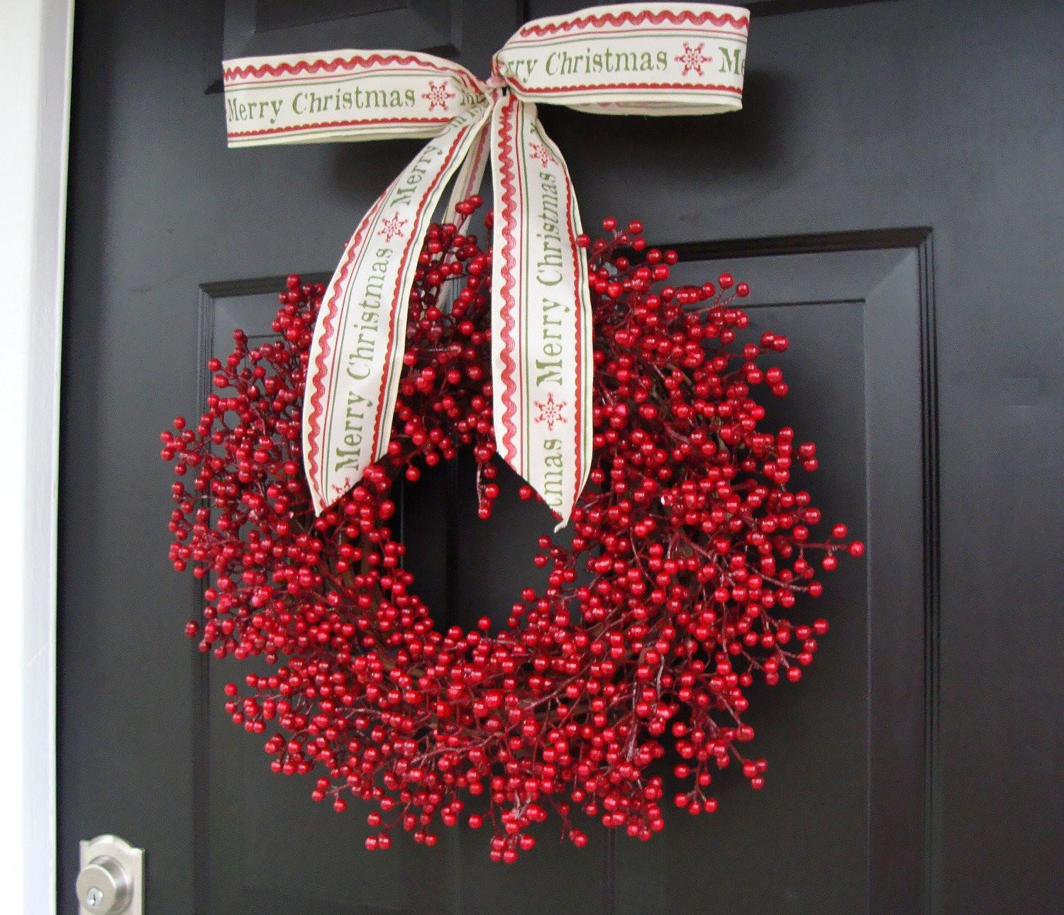 Red Berry Wreath Christmas Decor