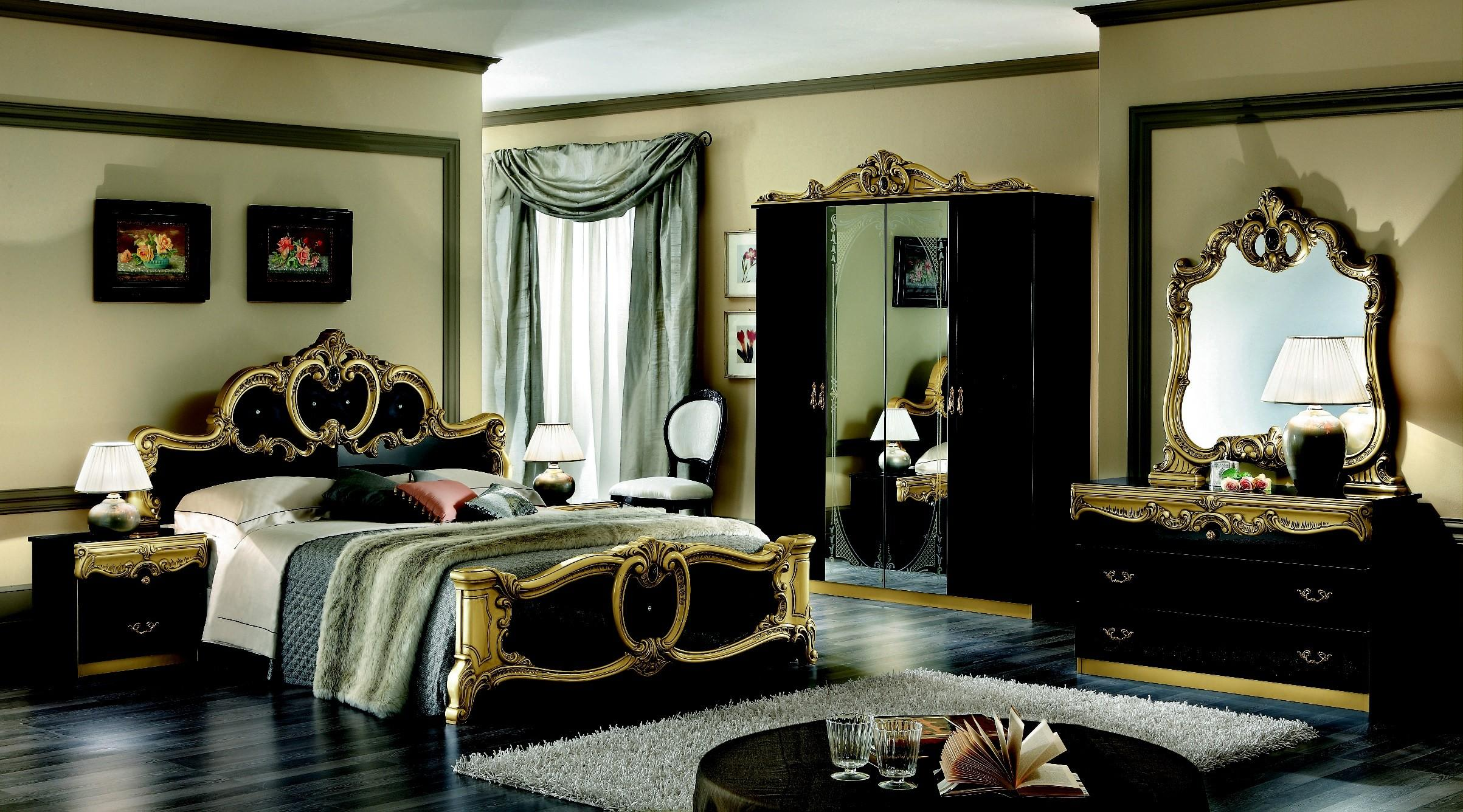 Red Black Gold Bedroom Ideas Decor Interalle