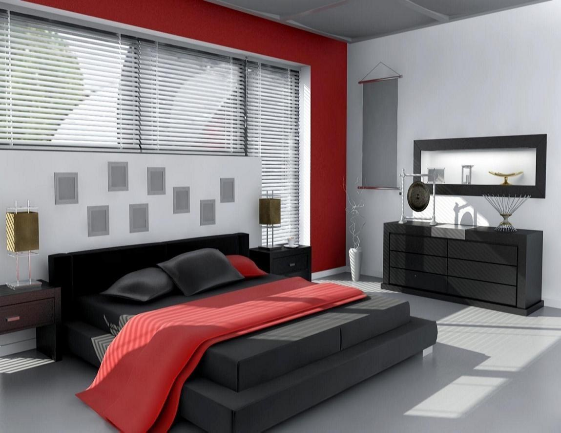 Red Black Grey Bedroom Ideas Grand Lovely