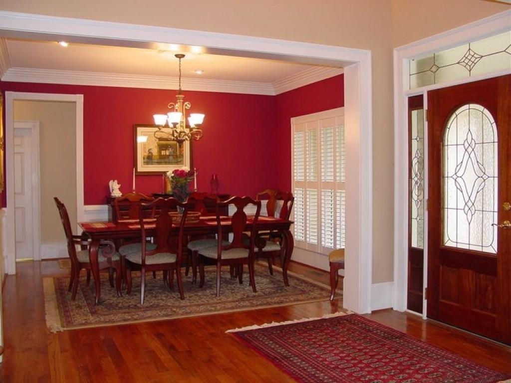 Red Dining Rooms Best Ideas
