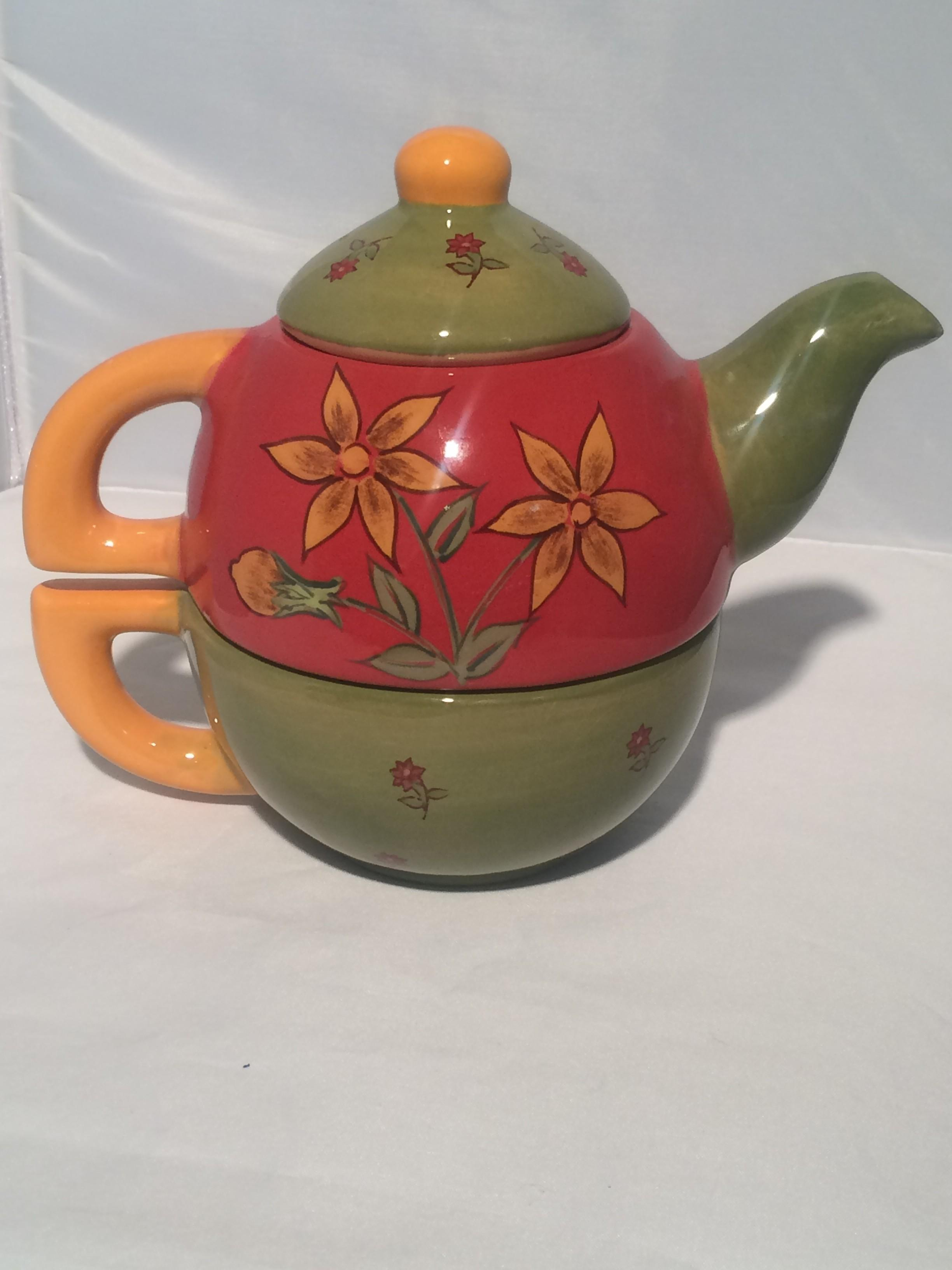 Red Green Teapot Tembo Group