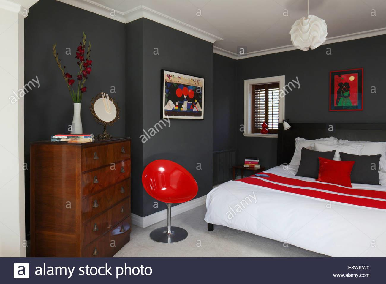 Red Grey Bedrooms Dgmagnets