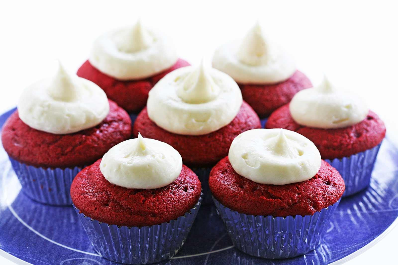 Red Velvet Cupcakes Cream Cheese Frosting Recipe