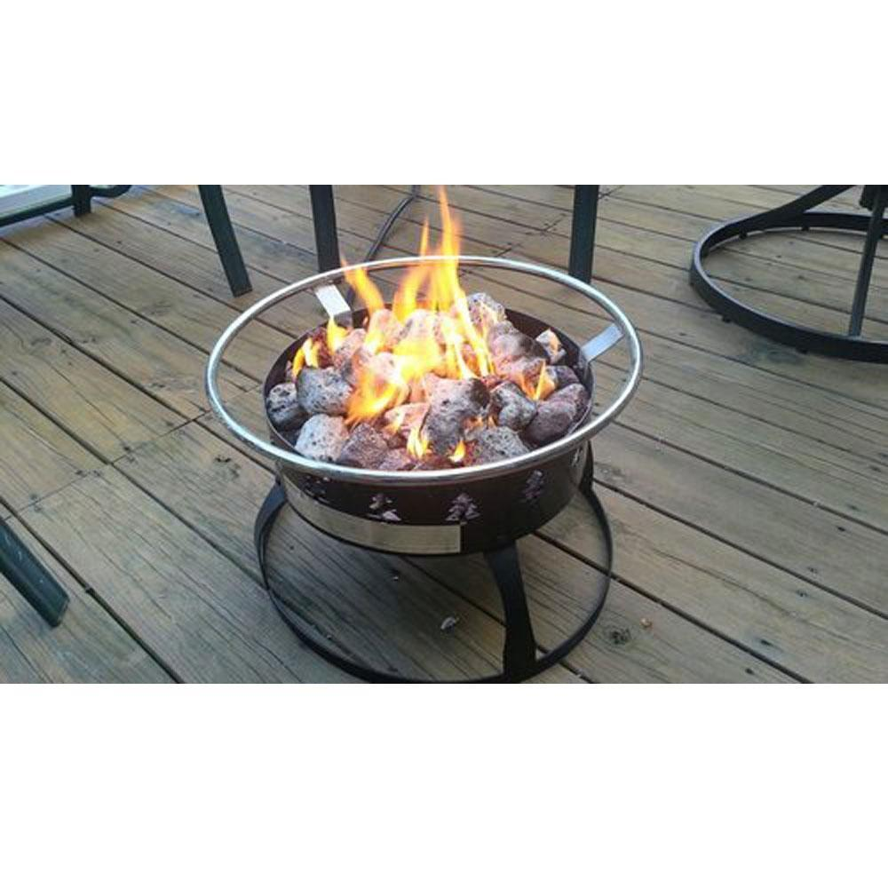 Redwood Portable Propane Fire Pit Camp Chef Gclogd