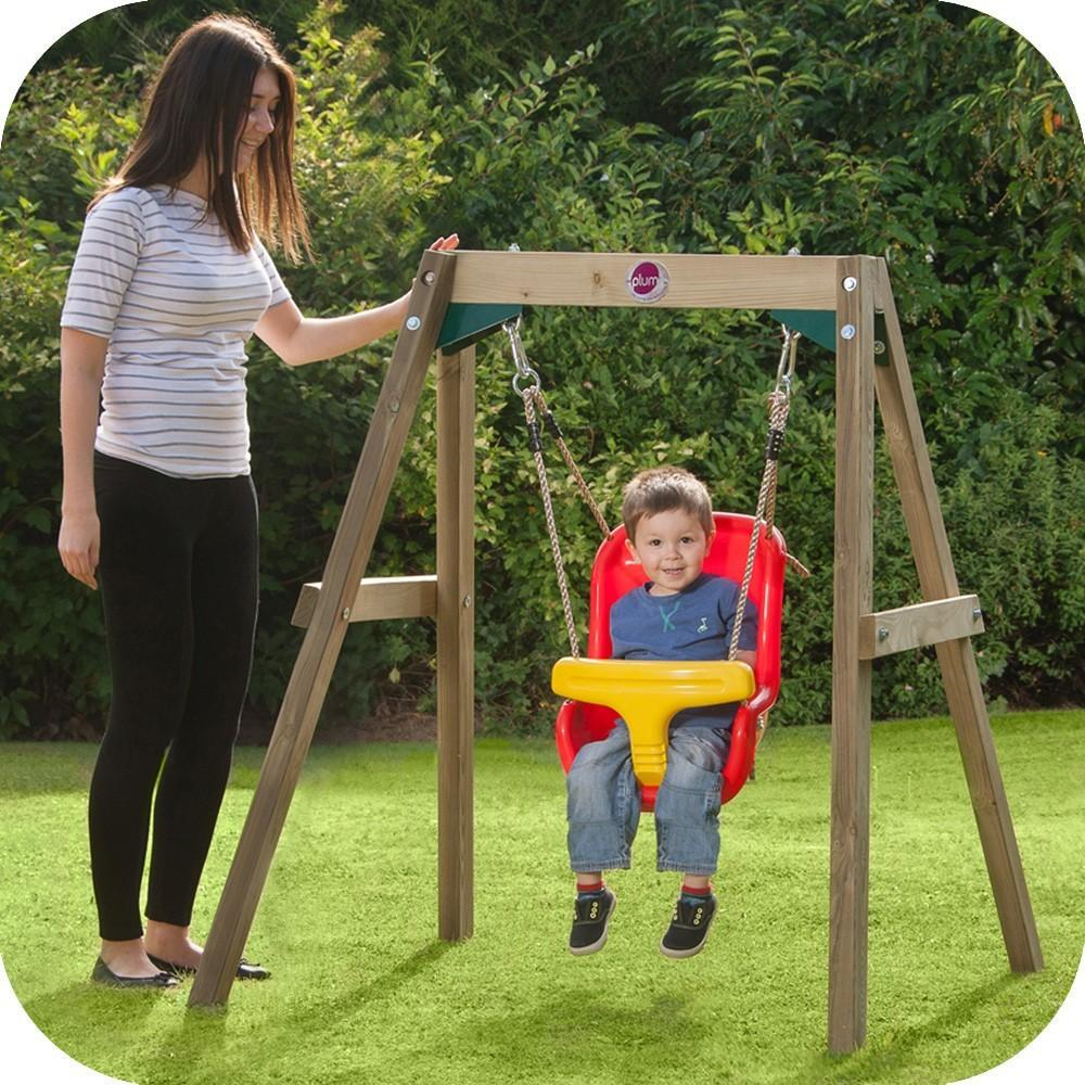 Ref Wooden Baby Swing Delivery Outdoor