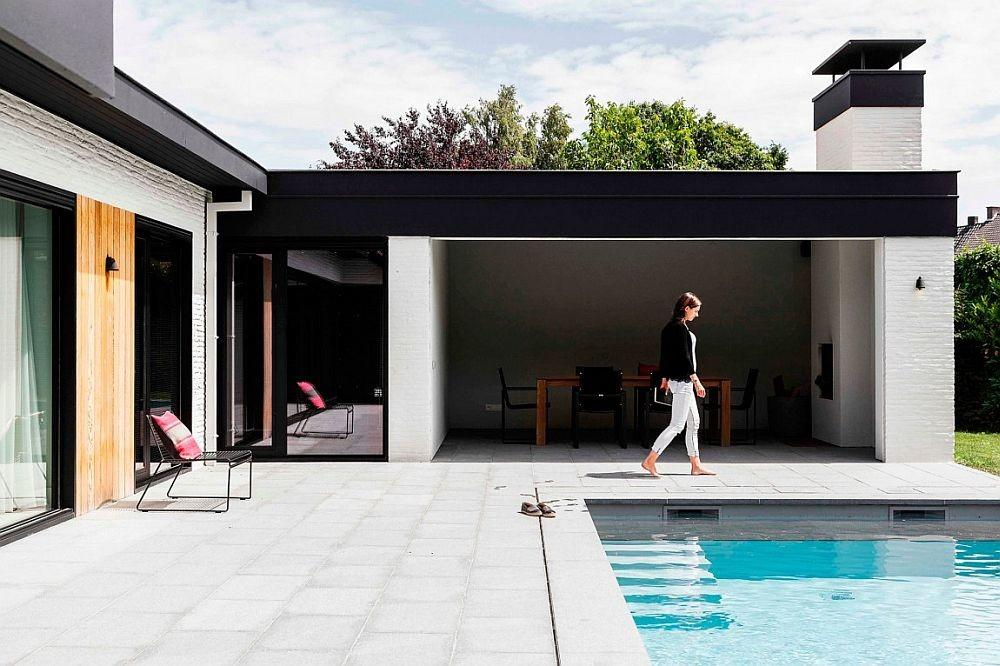 Refined Relaxation Belgian Bungalow Altered Into