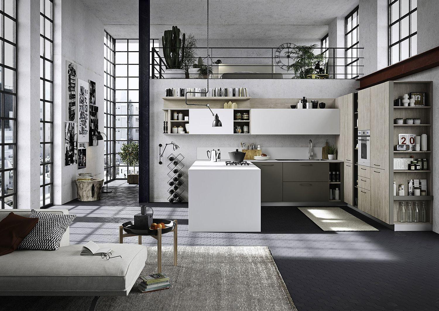 Refined Reliable Edgy Fun Adaptable Kitchen Snaidero