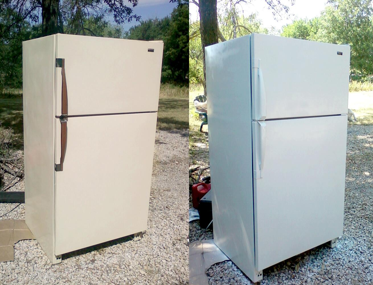 Refinishing Fridge Diy Home Projects