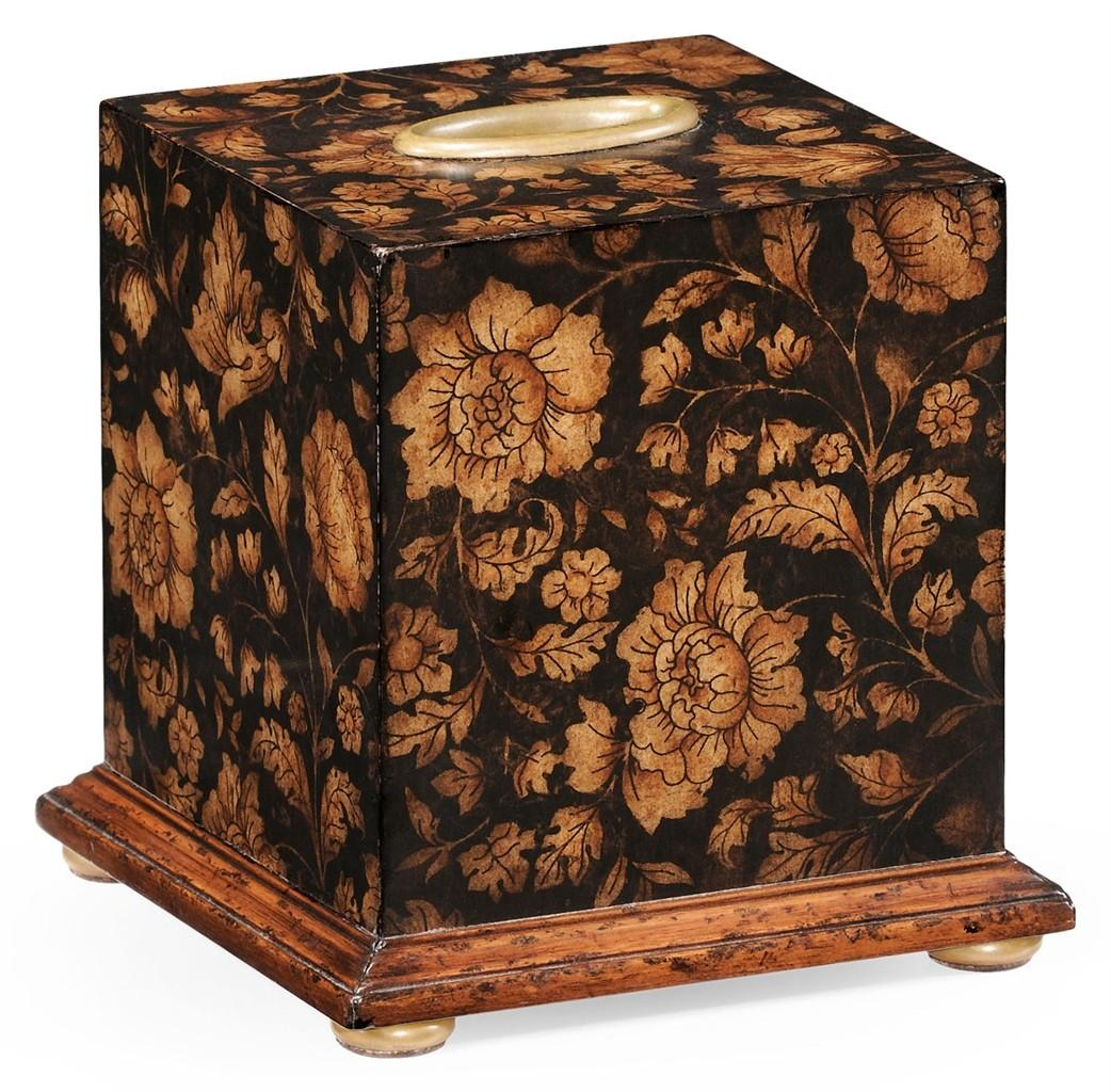 Regency Chinoiserie Style Tissue Box