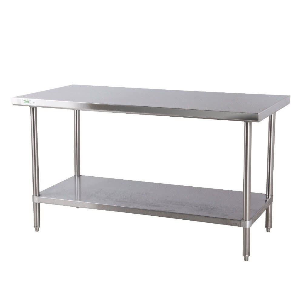 Regency Gauge All Stainless Steel Commercial Work Table