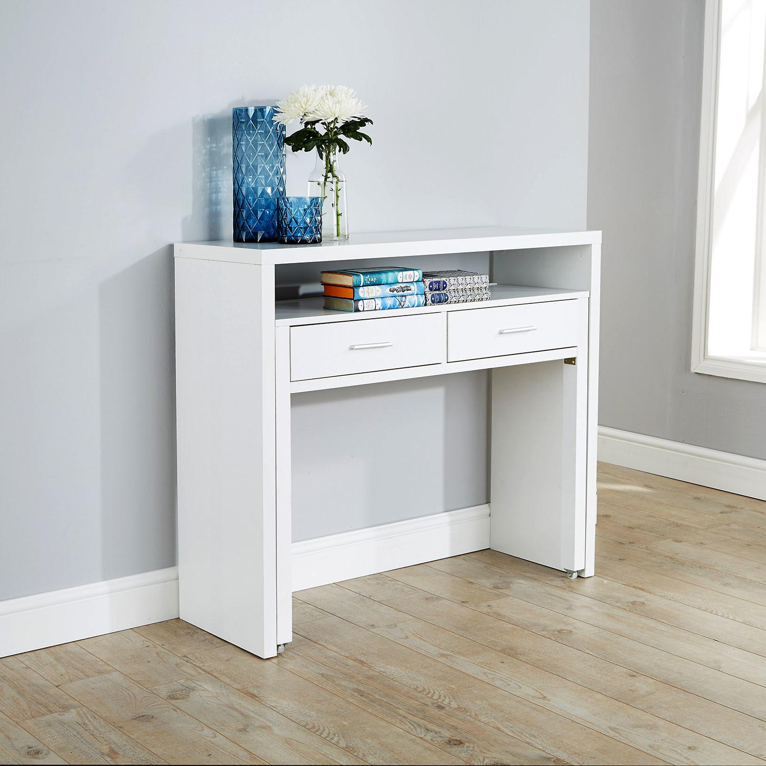 Regis Hideaway Console Desk Next Day Delivery