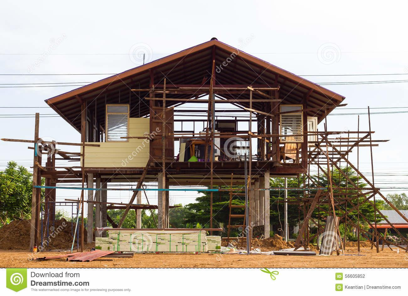 Reinforced Steel Structure Houses Stock