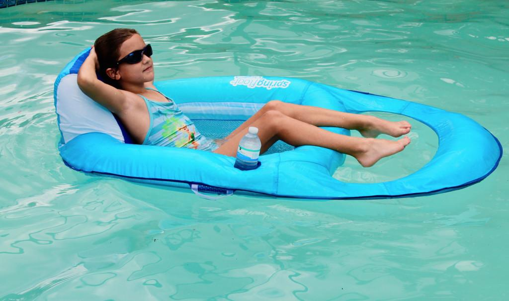 Relax Refresh Swimways Spring Float Recliner