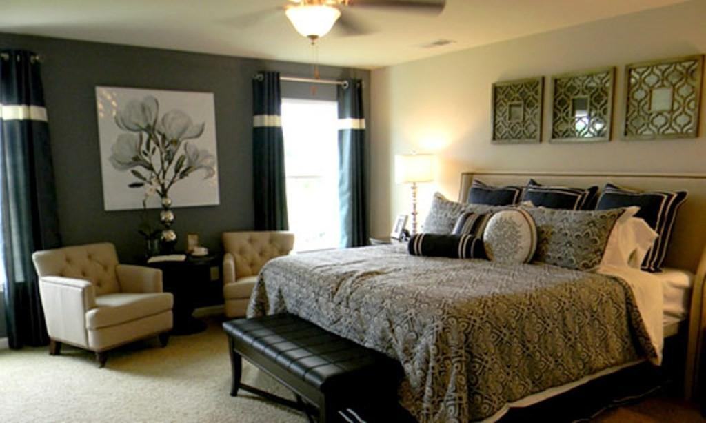 Relaxing Master Bedroom Ideas Creamy White Wall Color