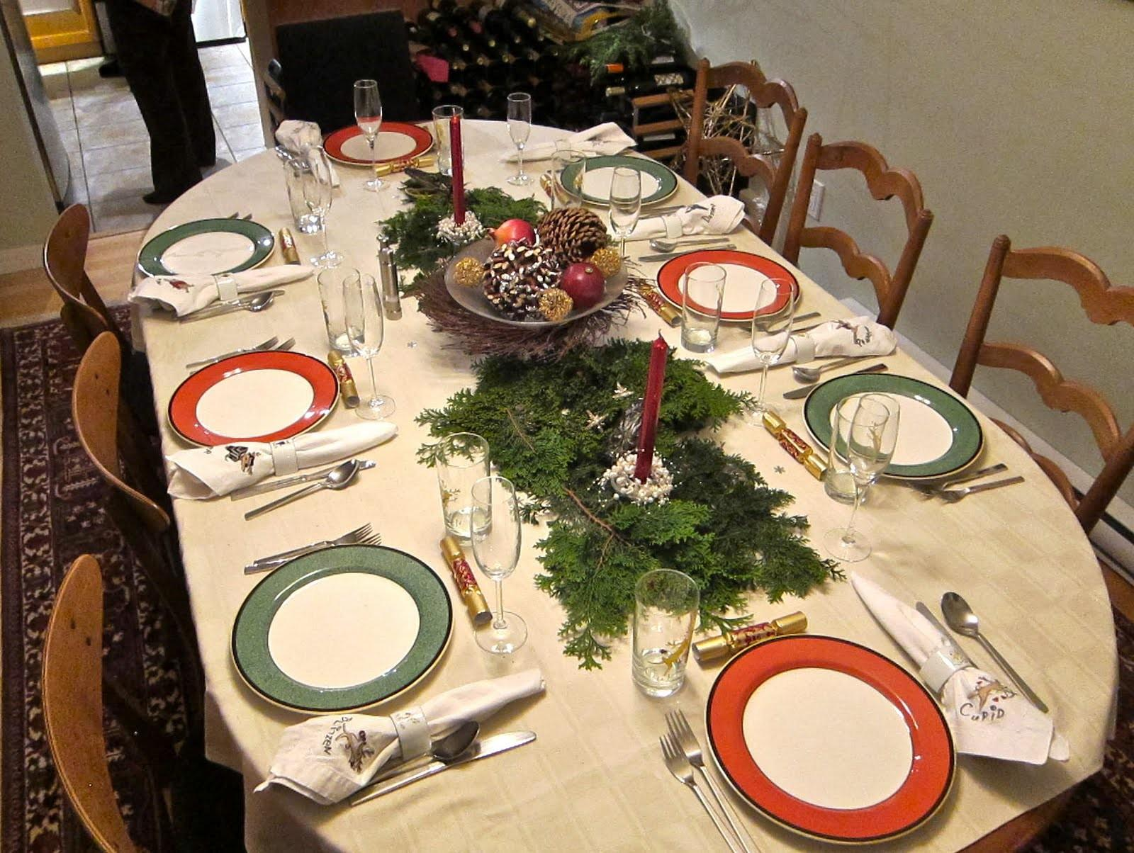 Remarkable Interior Dining Room Simple Christmas Dinner