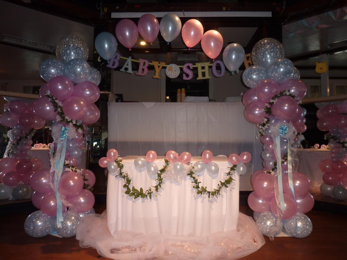 Remarkable Party Balloons Decorations Enthralling Baby