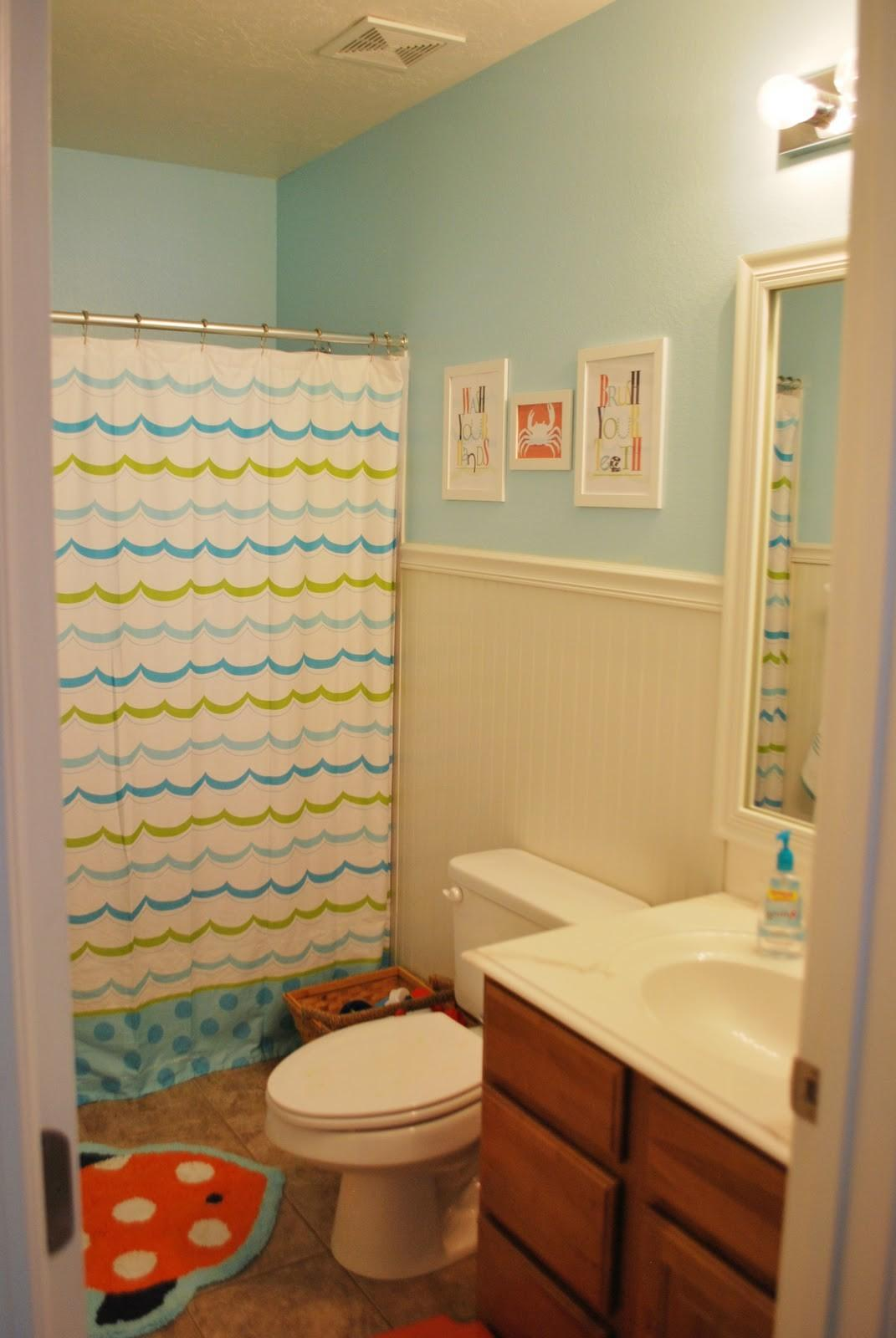 Remodelaholic Bright Kids Bathroom Reveal