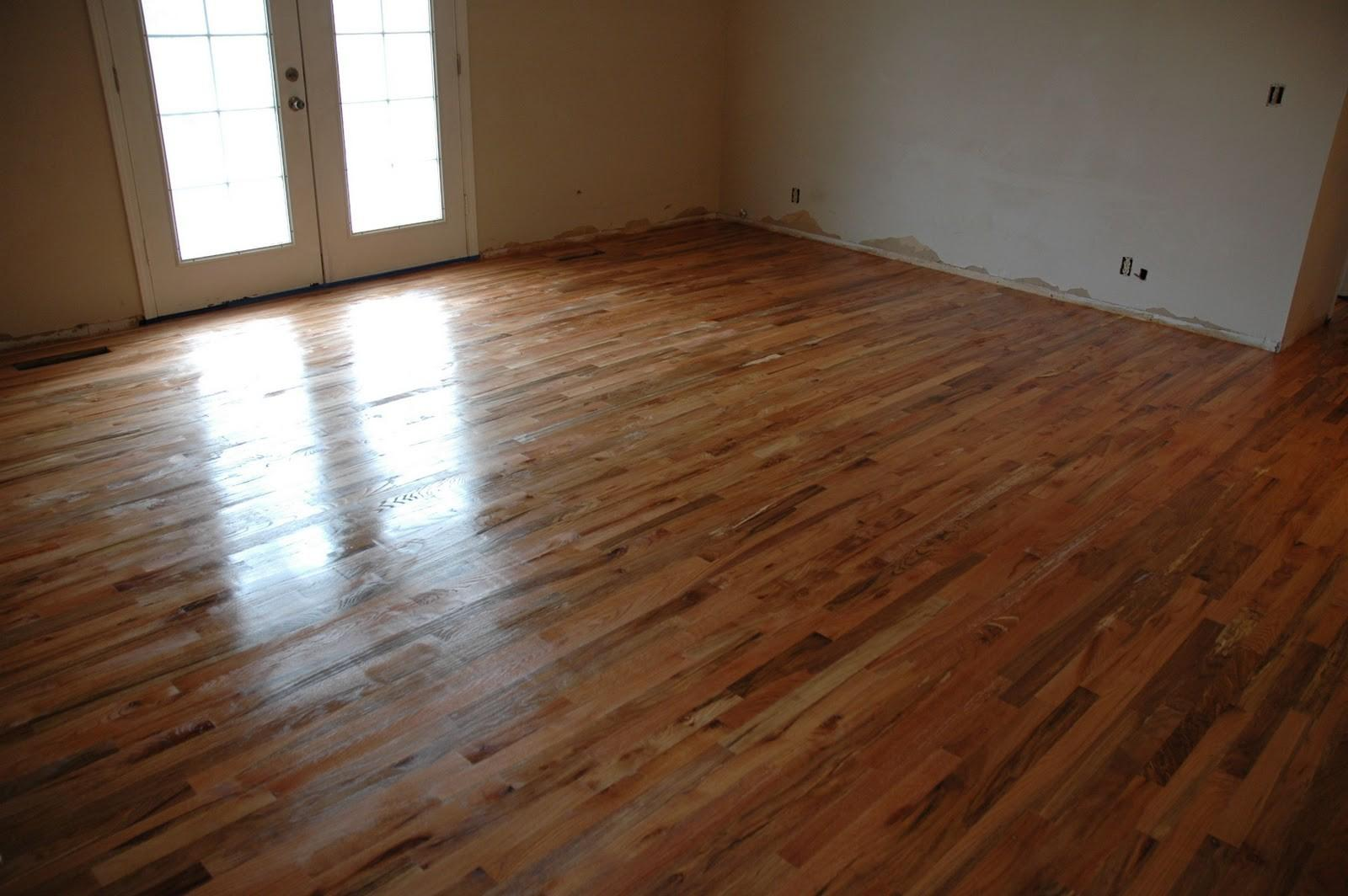 Remodelaholic Finish Solid Wood Flooring Step