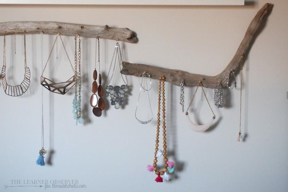 Remodelaholic Solution Diy Jewellery Organization