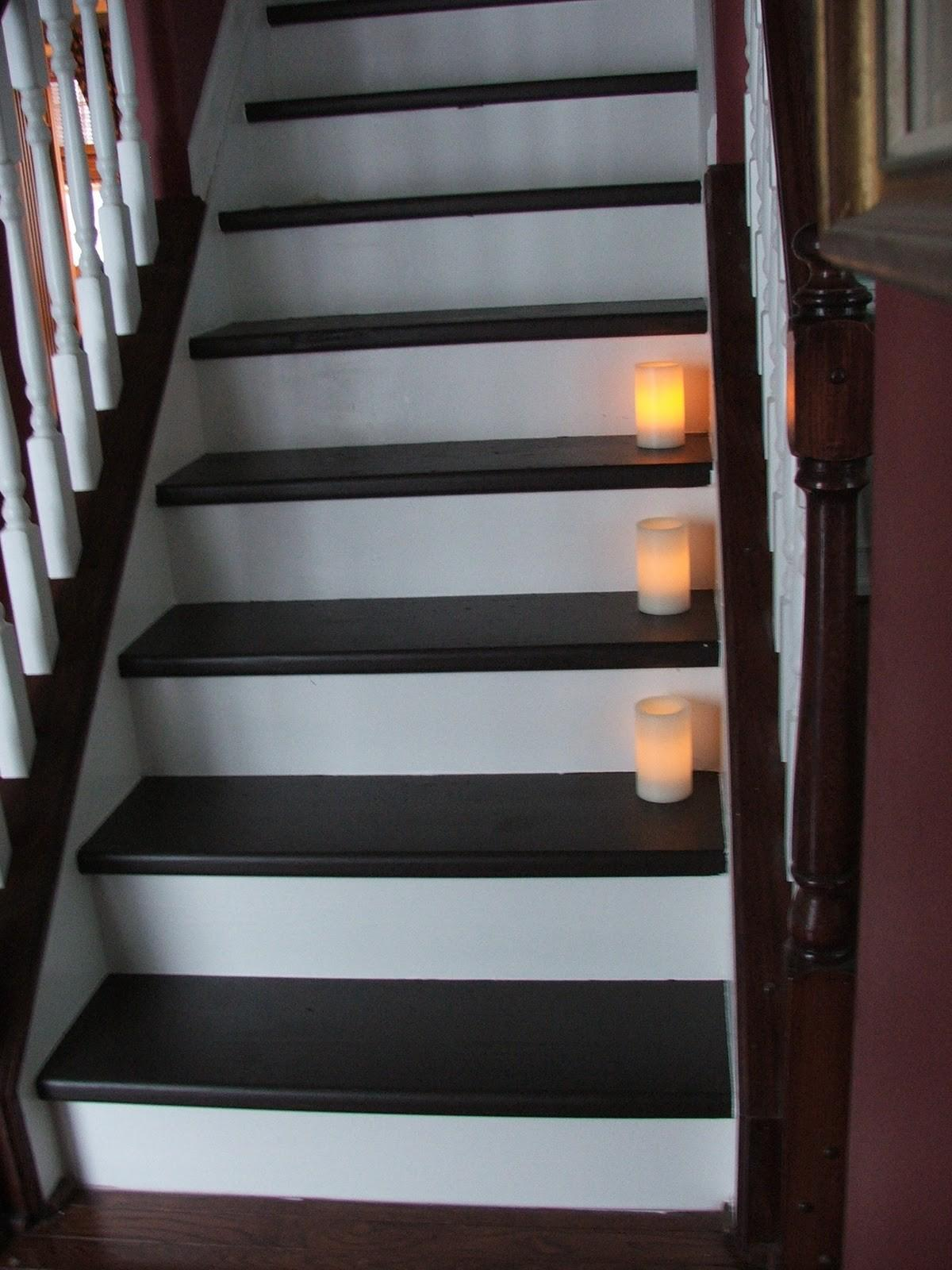 Remodelaholic Under 100 Carpeted Stair Wooden