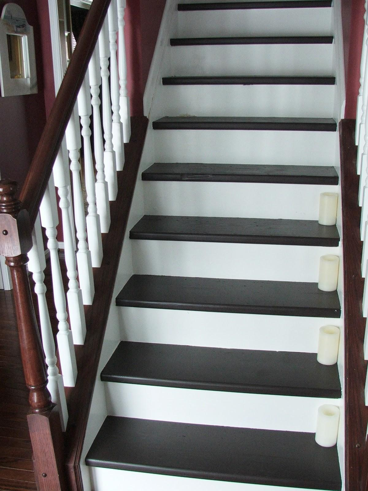 Remodelaholic Under 100 Carpeted Stair Wooden Tread