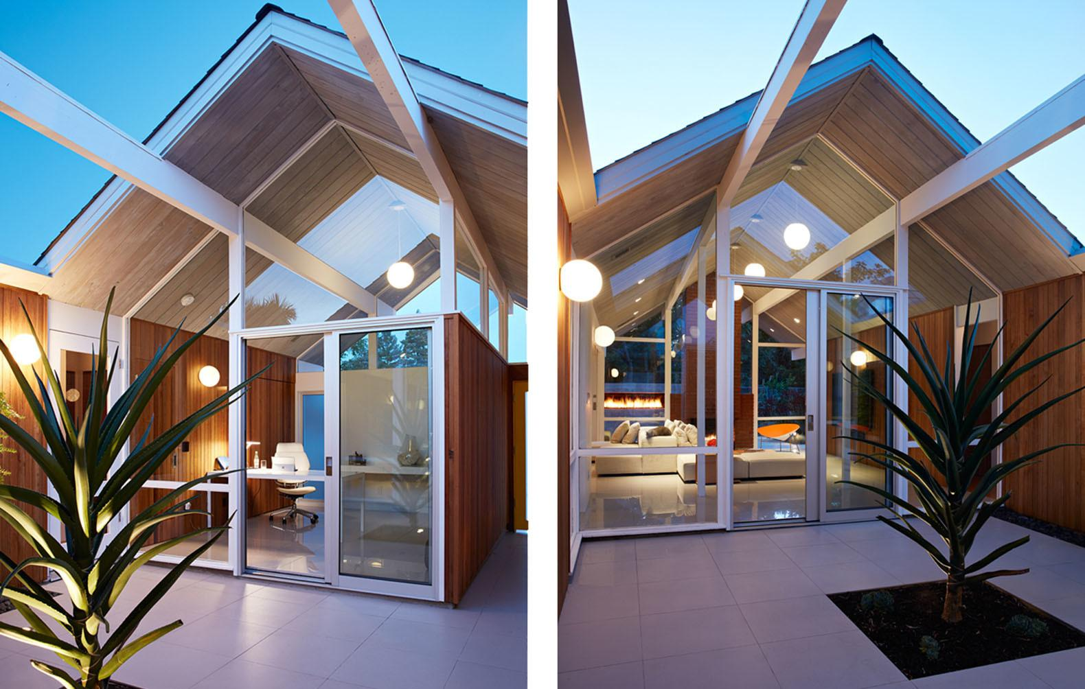 Remodeled Eichler House Oasis Calm Heart