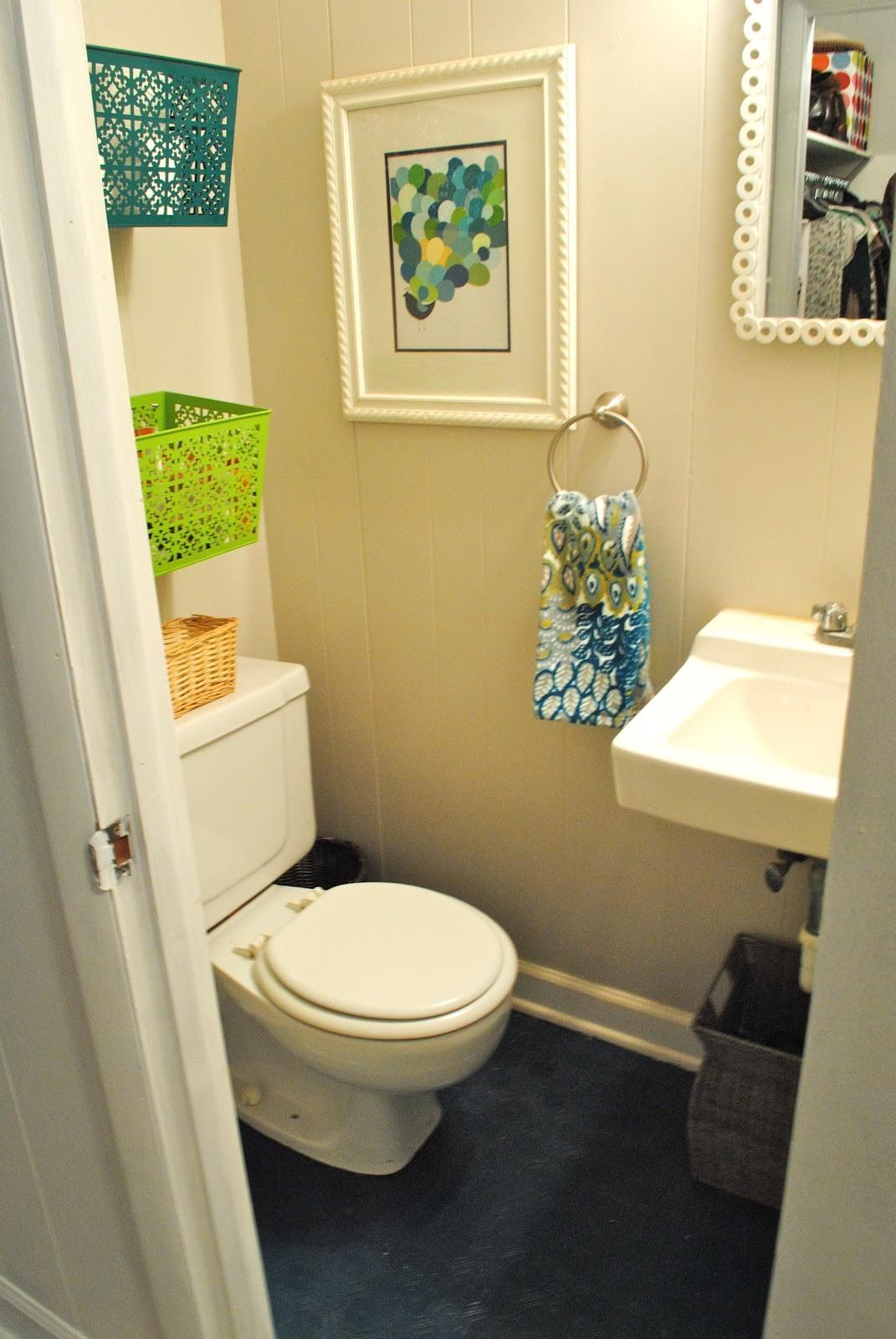Remodeled Life Sprucing Bathroom