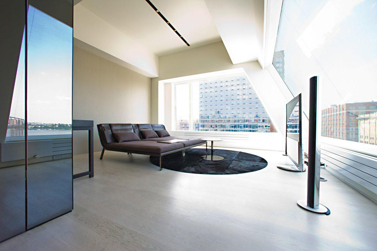 Remodelled Rooftop Apartment New York Idesignarch
