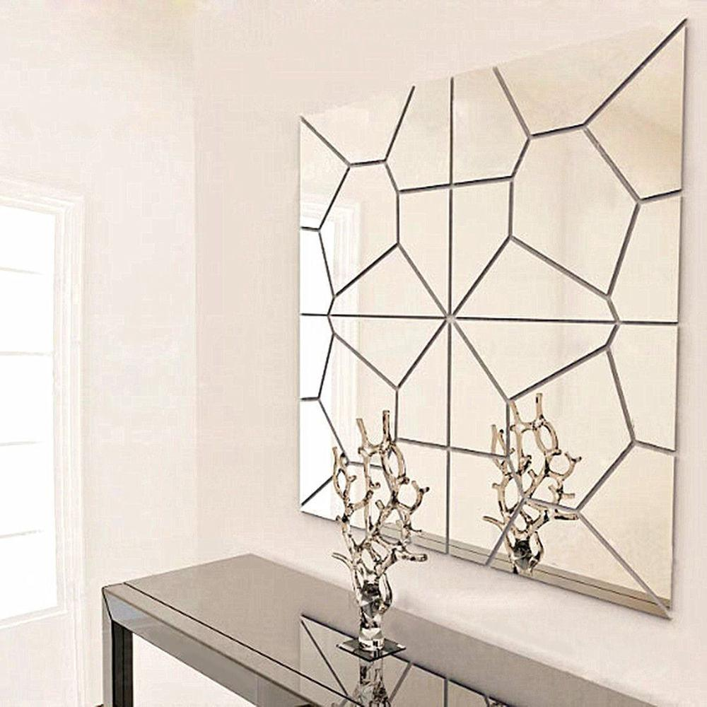 Removable Diy Acrylic Modern Mirror Decal Art Mural