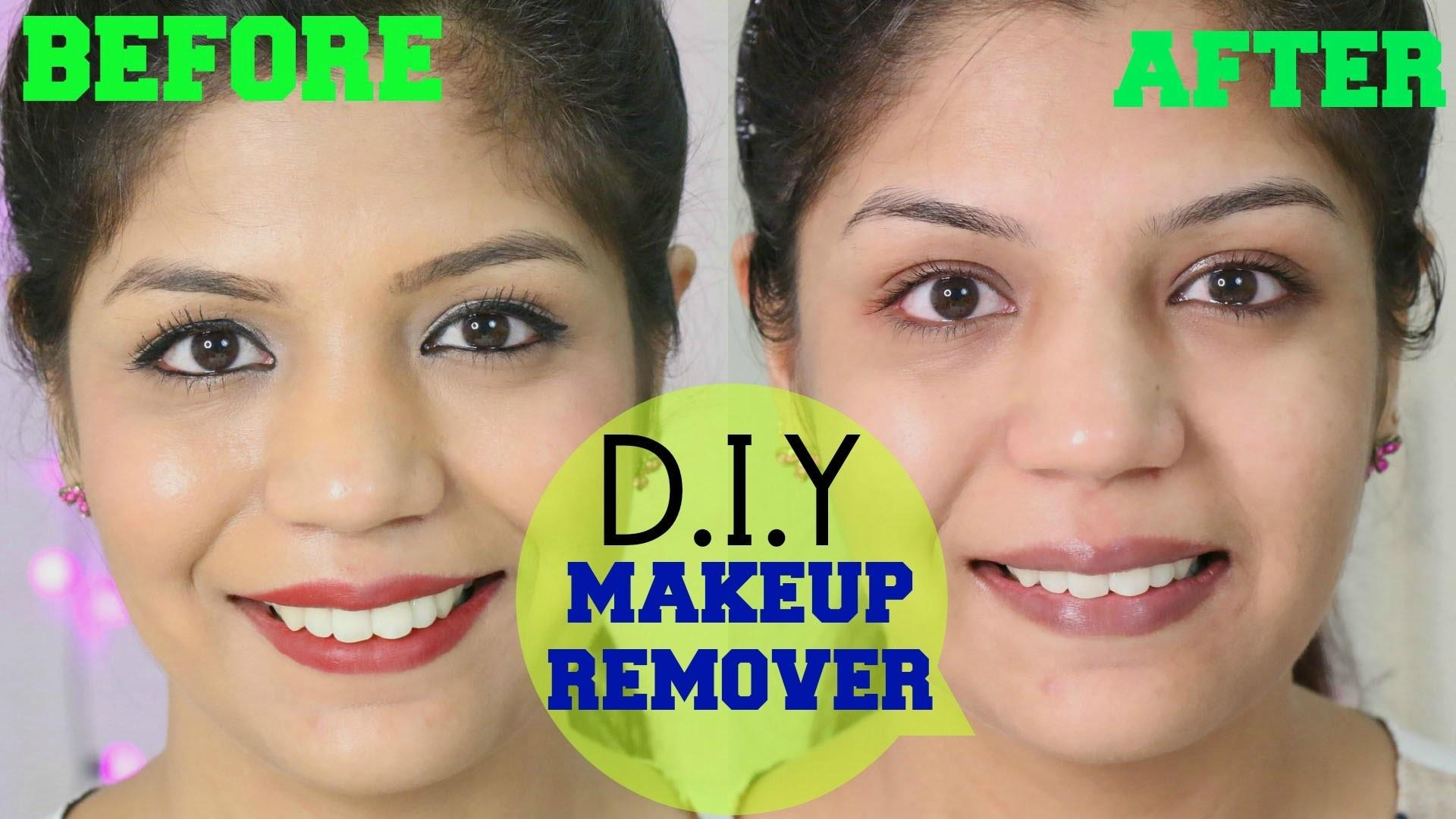 Remove Makeup Natural Homemade Remover