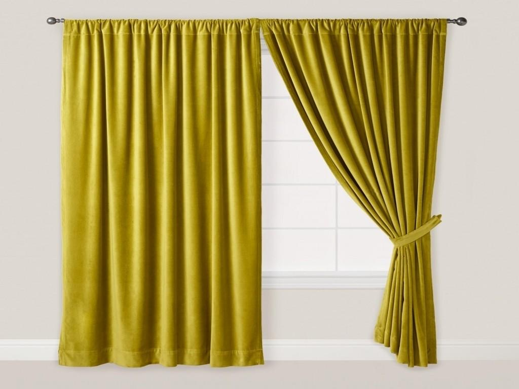 Renew Velvet Curtains All Home Design Knowing