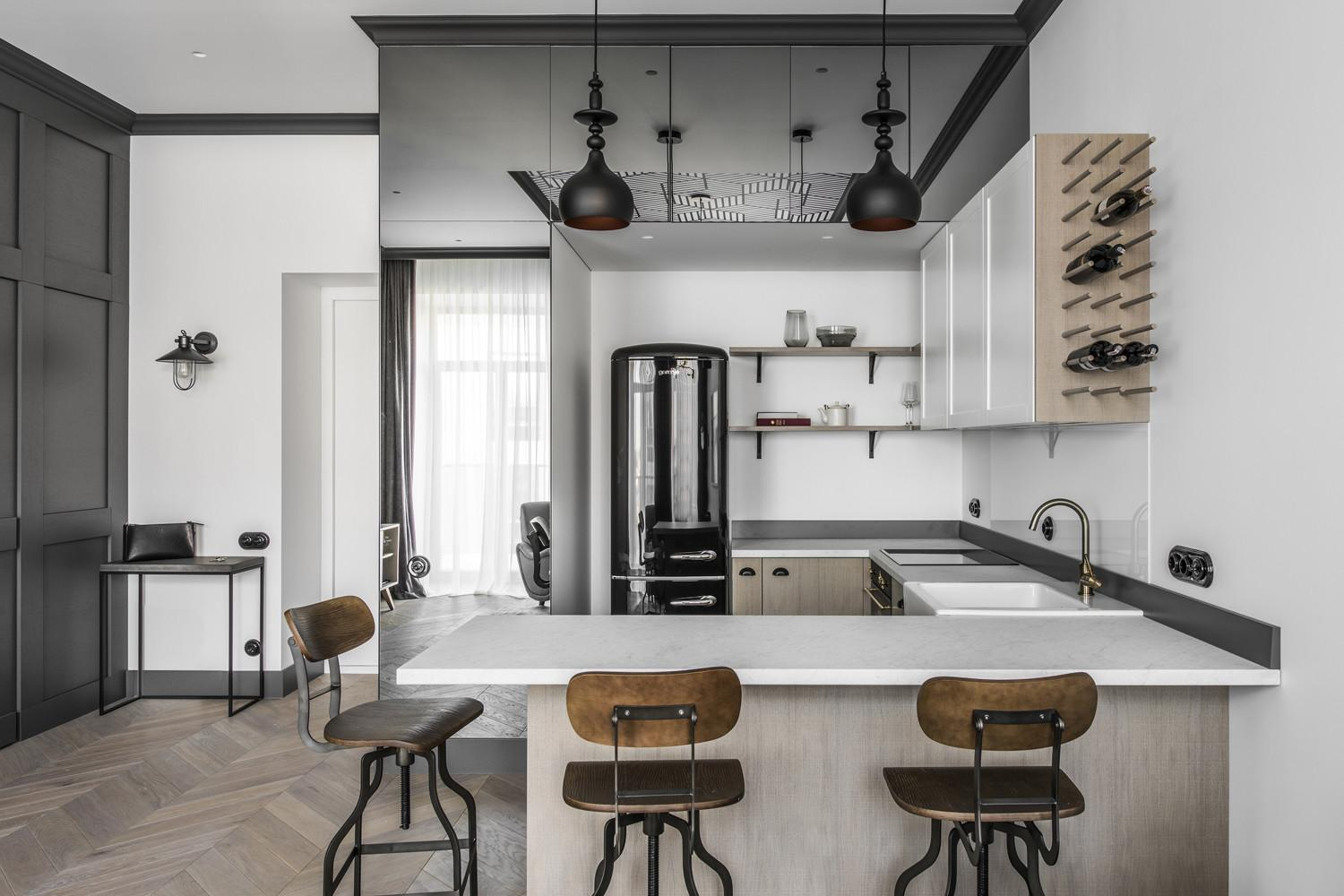 Renovated Apartment Lithuania Modern Eclectic