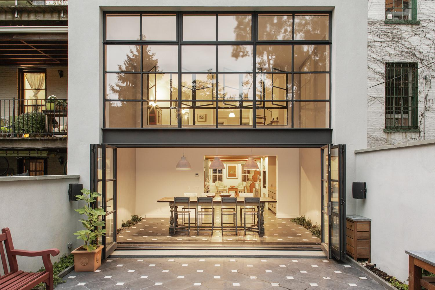 Renovated Brooklyn Townhouse New Rear Addition