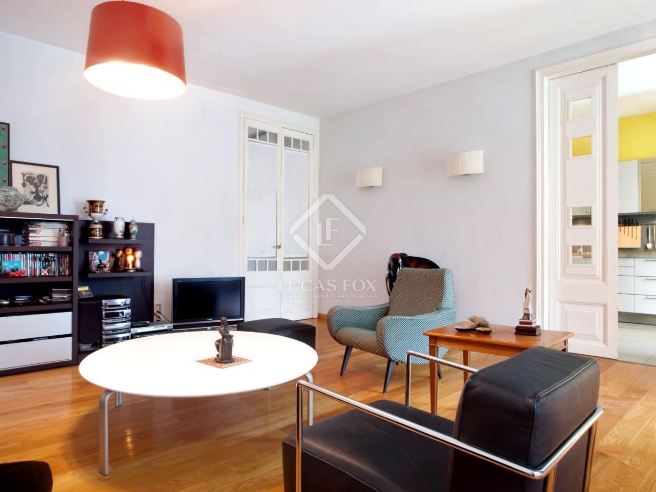 Renovated Property Sale Barcelona Eixample District