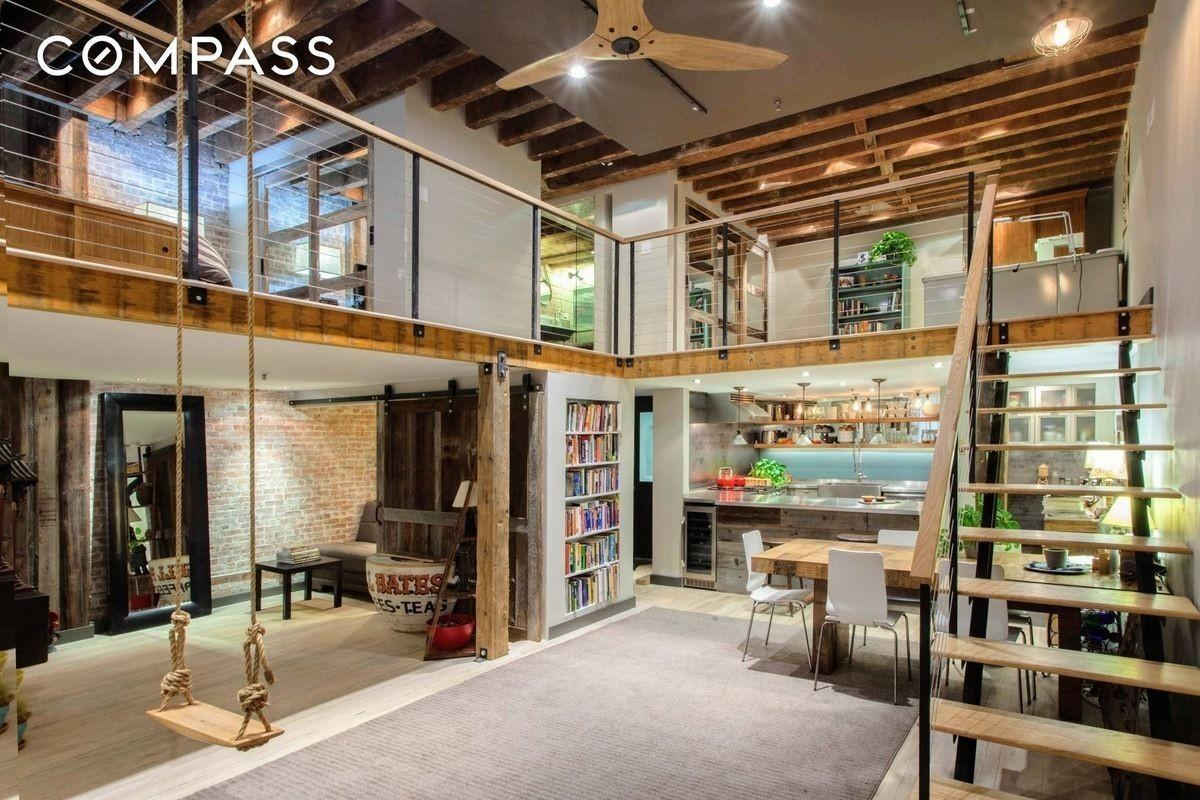 Renovated Tribeca Loft Rustic Touches Wants 65m