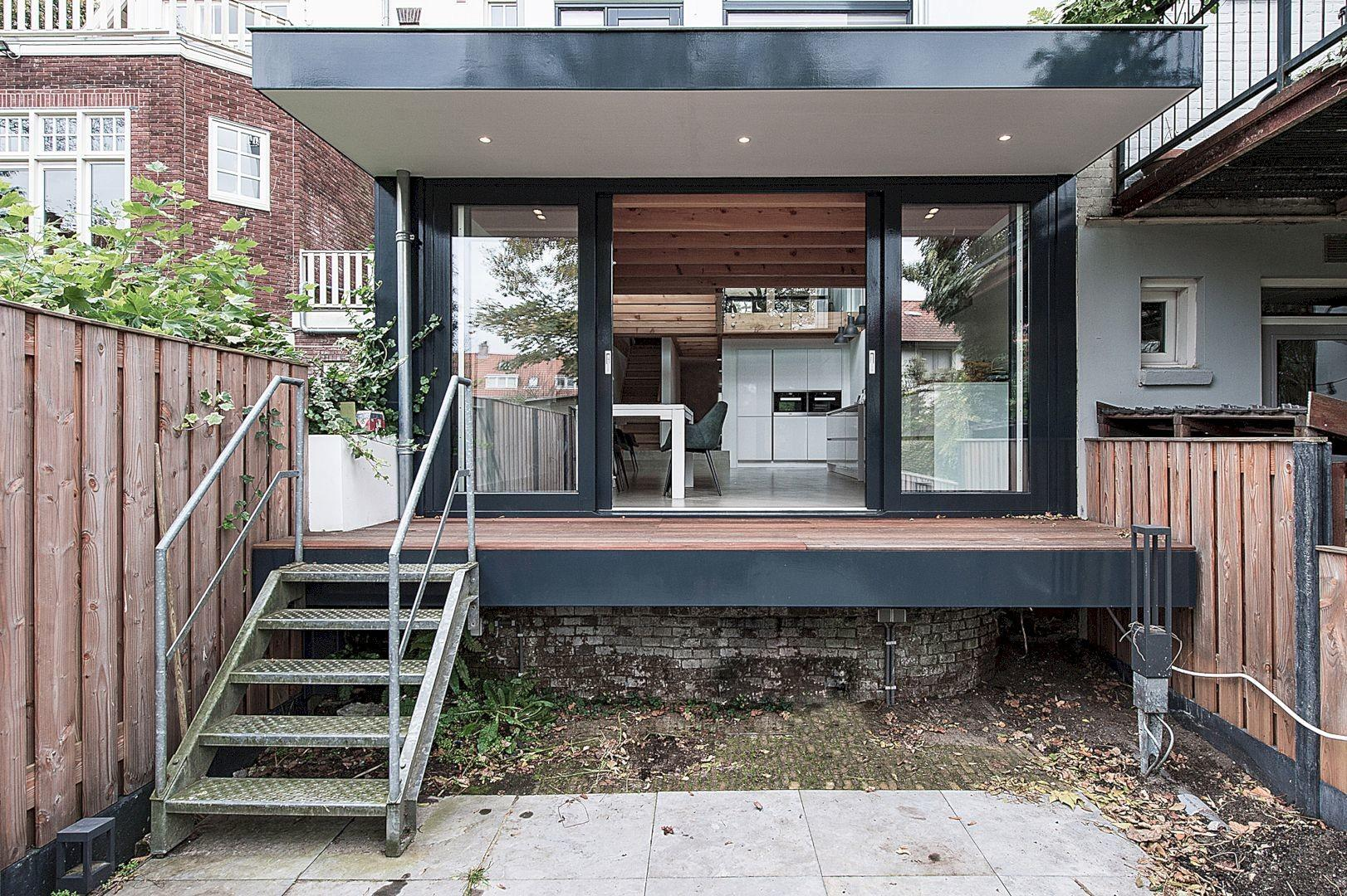 Renovation Extension Row House Overveen