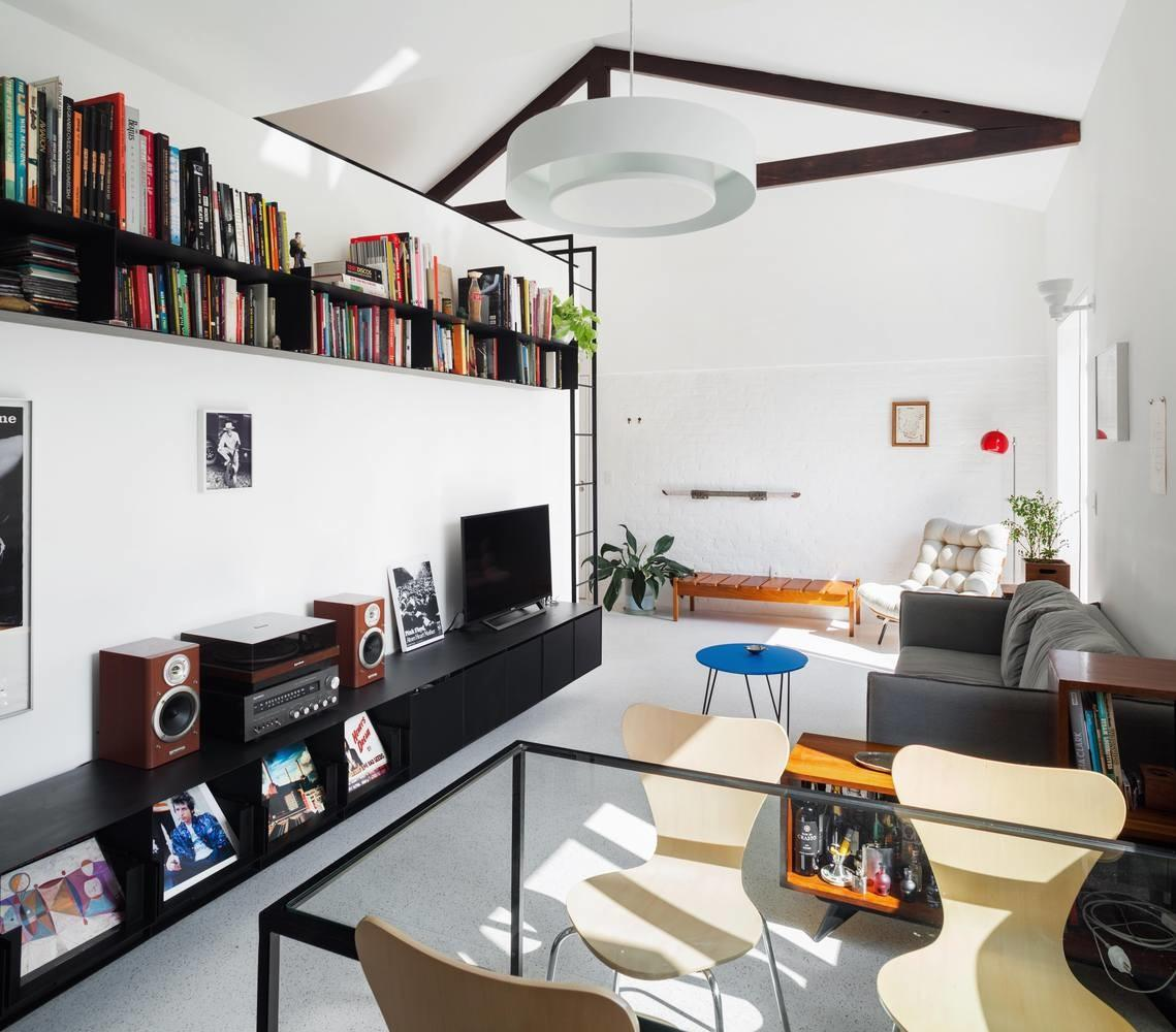 Renovation Makes Small Apartment Bright Efficient Curbed